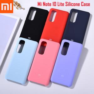 Note 10 Case Original Redmi K30 Silky Soft-Touch Liquid Silicone Protective Cover Shell For Note10 Lite Mi F2 Pro