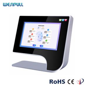 Escáner de cara portátil / Skin Análisis inteligente Instrumento / Mejor analizador de tester de piel facial Digital Tipo de piel Pruebas