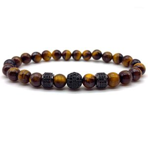 Pulseras Hombre 2020 Disco Ball Charm Bracelet Men Classic Natural Stone Bracelet For Men Fashion Jewelry Gift1