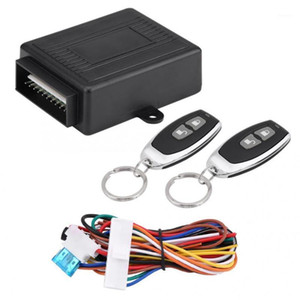 Car Universal Door Keyless Entry System 12V Button Start Stop Keychain Central Kit Door Lock With Remote Control Kit1
