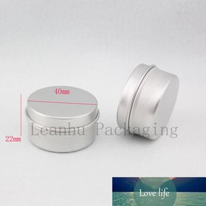 100 X 20g Empty Personal Care Aluminum Jar Containers Ointments Metal Pot Silver Cosmetic Cream Aluminum Jars Bottles Can Tin