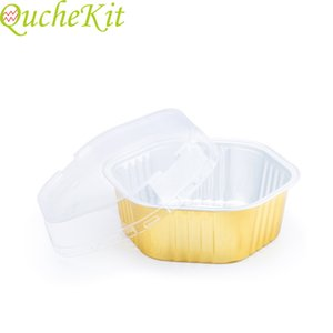 """Disposable hexagonal paper cup cake mold 5 pieces   124;"""" muffin cup, cake baking mold, frozen foam, wedding dessert container"""