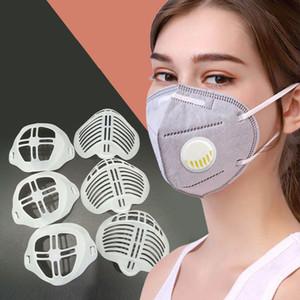 3D Ağız Maskesi Silikon Kapak Standı Maske Tutucu Nefes Vana Yardım Yardım Maske İç Yastık Braketi Maskeleri Aracı Aksesuar EWA2141