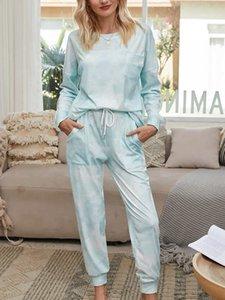 Женская дизайн Одежда тренировки 2021 трексуит Урожай топ + брюки 2 шт. Набор панелей Цвета повседневные свиты jogging Jogger Sportwear рубашка