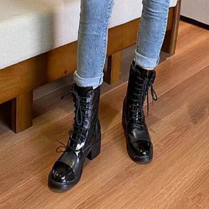 Fashion leather star women shoes martin short autumn winter ankle Exquisite women boots cowboy booties sh02 CH8