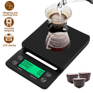 Digital Mini Scale With Timer Water Proof Digital Kitchen Scales High Precision 3kg 0.1g Portable Weighing Scales