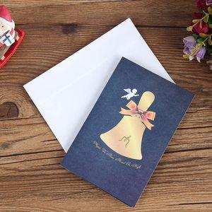 Pop Up Xmas Greeting Card di Natale del fumetto della carta dell'invito di Natale Anno nuovo Baby Gifts Cartoline OWA2307