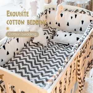 Children Bedding Bed Product Four Or Five Paper Set Pure Cotton Defence Collide Can Unpick And Wash Full Cotton bumper pillow1