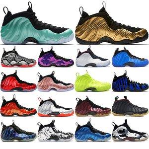 Nike Air Foamposite One HOT البديل غالاكسي 1.0 2.0 بيني هارداواي الأولمبية الأسود الصمغ الأبيض المغادرة الرجال أحذية كرة السلة الرغاوي واحد الرجال الرياضية أحذية رياضية النساء 40-4