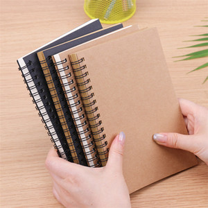 Kraft Soft Cover Notebooks Journals Planner Notepads with Blank Paper Brown Copybook Diary for Travelers Drawing Painting