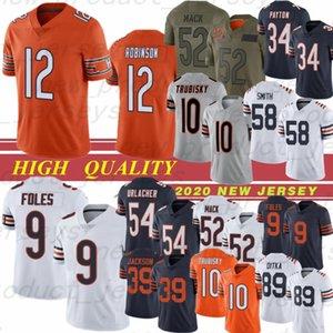 85 Cole Cheet 52 Khalil Mack Football Jersey 9 Nick Foles 34 Walter Payton Allen Mitchell Robinson II Trubishy 89 Mike Ditka Smith Urlacher