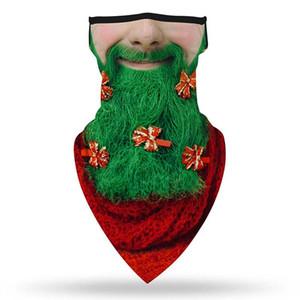 Hot Christmas Scarf Neck Tube Scarf 3D Print Face Cover Half Balaclava Unisex Bandana Biker Cycling Warmer Headwear
