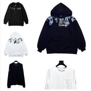 20ss ChroHearts Kazak O-Boyun Hoodie Erkek Tasarımcılar Kazak elmas Kafatasları Eşofman Palto Erkek Giyim Sweatshirt