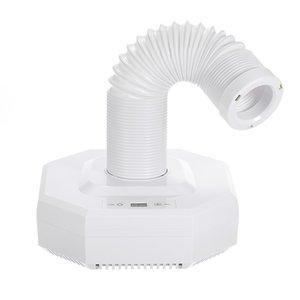 60W Manicure Powder Vacuum Cleaner Nail Art Salon Suction Dust Machine EU Plug