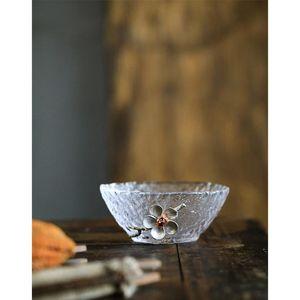 1pc tazza di tè in vetro cinese kungfu set da tè in porcellana tazza da tè tazza da tè accessori da tè puer tazza di latta piccolo b jllotr
