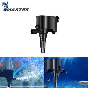 JEBO LIFETECH Aquarium Filter Air Pump Aquarium Water Pump Fish Tank Circulating Water SpraySubmersible Purifier Filter Y200922