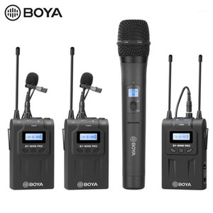 BOYA BY-WHM8 Pro Handheld Microphone UHF Wireless Unidirectional Dynamic Mic Transmitter for Stage Film ENG BY-WM8 Pro Receiver1