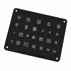 WYLIE MT Hi Power IC Chip Reballing Stencil for Huawei for OPPO VIVO Power Series Reballing WL-54 X2Ag#