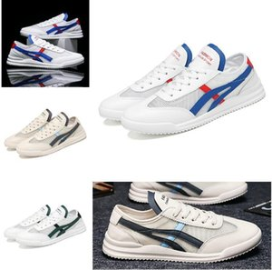 Good Quality Men Casual Flat Shoes Couple Running Shoes Designer Breathable Fashion Unisex White Sneakers Light Footwear Lace Up wit