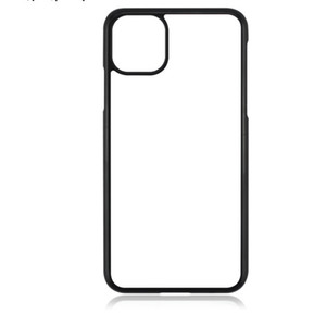 TPU+PC Blank 2D Sublimation Hard Plastic Heat Transfer Phone Case with Aluminum Inserts for iPhone 11 XS MAX XR Samsung S20 A21