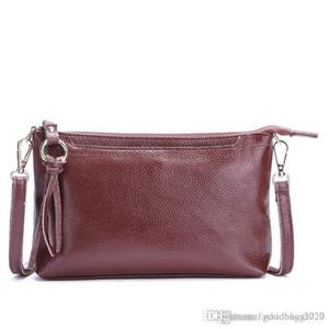 2020 new fashion leather womens single shoulder bag simple messenger bag tassel dinner bag leisure hand USA