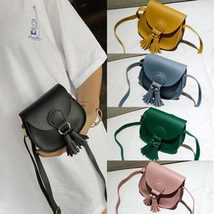 New Children Girls Women Small Shoulder Bag Leather Waist Bag Crossbody Handbag Ladies