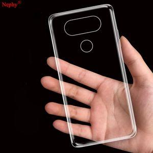 Clear Nephy Ultra Thin Soft Case For LG G3 G5 G6 G4 Stylus K10 V10 V20 G 3 4 5 6 V 20 K 10 TPU Silicone Cell Phone Back Cover