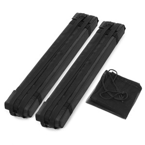 Barras de rack de techo de bloque de espuma suave 2 unids para automóvil en la barra de carga de la tabla de surf kayak en la azotea