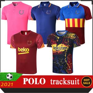 Nuovo 2021 Top Polo Mens Football Tracksuit Soccer Training Suit Tuta POLO 2020 2021 UOMINI BAMBINI BAMBINI SUPERIORE PIEDI Chandal Futbol Tuta Jogging