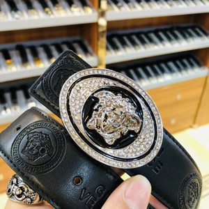 Yeni marka kemer moda kemer siyah gerçek deri kemerler Tasarımcı Kemer İçin Erkekler Ve Kadınlar iş kemerleri Marka adamın iyi qualtiy tasarım