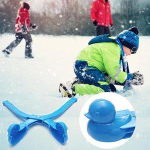 Snow Clip Snowball Maker Sand Mold Tool Creative Outdoor Fun & Sports Winter DIY Tool Duck Penguin Snowman Soccer Grenade Shape