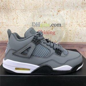 2020 Chegada Nova Que o frio Womens Basketball Mens Grey Shoes Oreo branco puro Raptors Branco Cimento Alternate Motorsport criados Sports Shoes