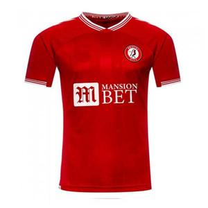 20 21 Bristol City camiseta de fútbol 2020 camisa 2021 PATERSON MAWSON KALAS WEIMANN de fútbol de local