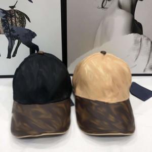 2021 Avrupa ve Amerikan Yüksek Kaliteli Patchwork Kapalı Logolu Baskılı Mektup Erkekler Moda Beyzbol Şapkası