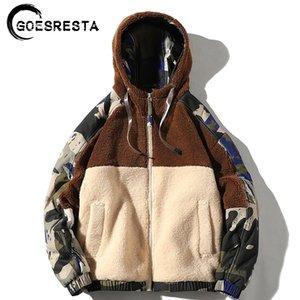 Goesresta Marca Nuevo Hombre Chaquetas Streetwear Otoño e Invierno Wild Wild Fashion Casual Ultralight Jacket Jacket Men 201116