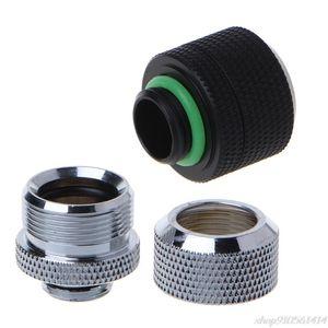 14mm G1 4 Thread Acrylic Hard Tube Fitting Hand Twist 3 Laps 10x14mm Connector N04 20 Dropshipping