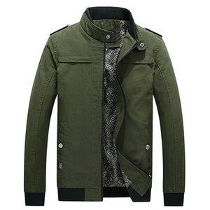 Veste Casual Coat Mode pour hommes Washed 100% pur coton Vêtements Marque de KIBY Vestes Homme Manteaux Nouveau Printemps Automne
