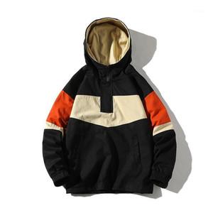 Streetwear Casual Men Jacket 2020 Spring Mens Bomber Jacket Coat Hooded Windbreaker Male Outwear1