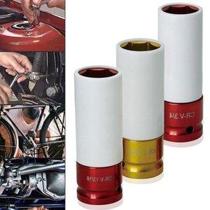 하이 카본 스틸 휠 다채로운 슬리브 타이어 보호 슬리브 벽 딥 임팩트 (Deep Impact) 너트 소켓 17mm / 19mm / 21mm