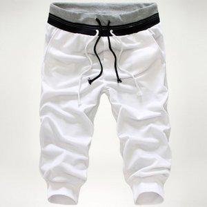 iORUq 2020 printemps nouveaux sports occasionnels populaires de pantalons de jeunes occasionnels recadrée sport Cropped pantalons pour hommes de 304 hommes
