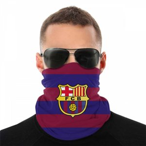 Barcelona Bandana Football Outdoor Cycling Scarf Bandana Neck Face Headscarves Sport Magic Bib Headband