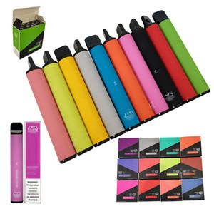Battery Vape Pen Plus Puff 1.8ohm Smoke Food Snack Machine Dispositivo 3.2 ML 800 Pulves vape monouso