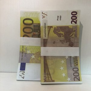 Bar LE200-10 Money Party Billet Counterfeit Atmosphere New Prop Faux 200 Stage Euro Spmtj Jelkt