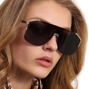 Fashion Gradient Sun Driving Glasses Radiation Protection for Women 2020 New Hd Oversized Sunglasses Eyewear