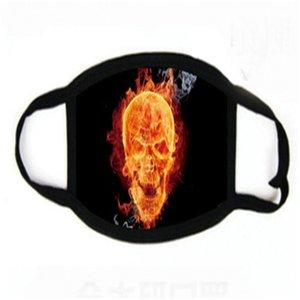 Relaxed Party Mask Scary реквизита Реалистичные маски печати Косплей Alloween платье Gost Orror 5o0913 # 427