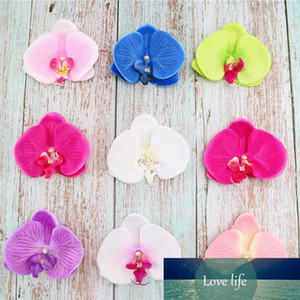 10pc Artificial Flowers Big Silk Fake Orchid Heads for Home Wedding Backdrop Photography Prop Background Wall DIY Decoration