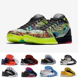 Zoom Spurs Iv 4 Protro Black Mamba Basketball Shoes Wizenard Hornets Carpe Diem Del Sol Zk4 4s Sports Trainers Mens Sneakers with lo