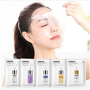 Women Face Care LANBENA Vita-min C Face Masks Serum Blueberry Sheet Mask Moisturizing Whitening Face Skin Care
