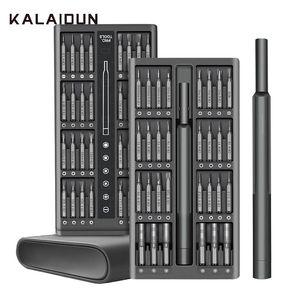 KALAIDUN Precision Screwdriver Set Screw Driver 63 In 1 Torx Bit Set Magnetic Bits Holder Handle Phone Repair Kit Hand Tools