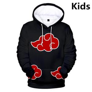 3 To 14 Years Kids Hoodies 3D Uzumaki Hoodie Sweatshirt Boys Girls Uchiha Family Cartoon Jacket Tops Teen Clothes